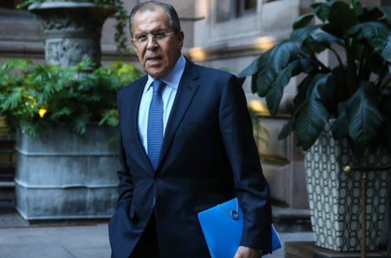 Лавров: Москва поддерживает возобновление контактов между парламентариями России и Грузии