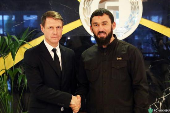 Грозненский «Терек» переименован в честь первого президента Чечни