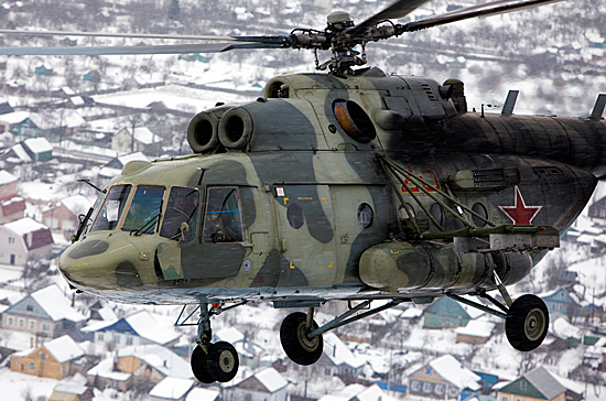 В Российской Федерации разработали вертолет для борьбы стеррористами