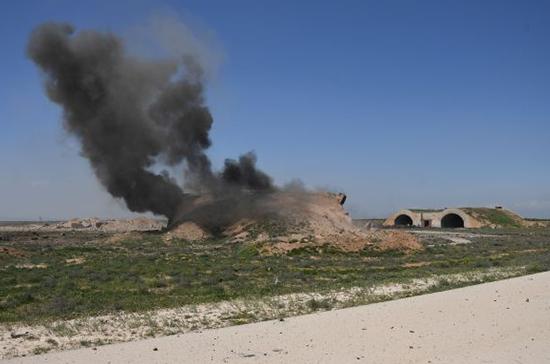 Штаб-квартира террористов в Ракке уничтожена — СМИ