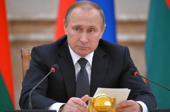 Путин: Авиасалон МАКС будет содействовать продвижению отечественной авиапродукции нарынки