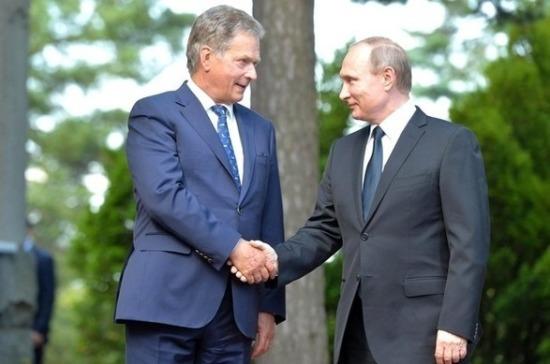 27июля Владимир Путин посетит Финляндию