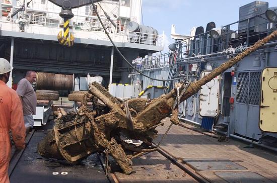 ВЧерном море работает экспедиция попоиску затонувших вгоды войны кораблей