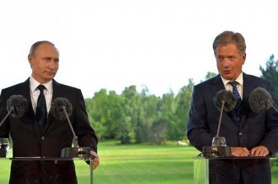 Путин: Российская Федерация иФинляндия будут наращивать сотрудничество вАрктике