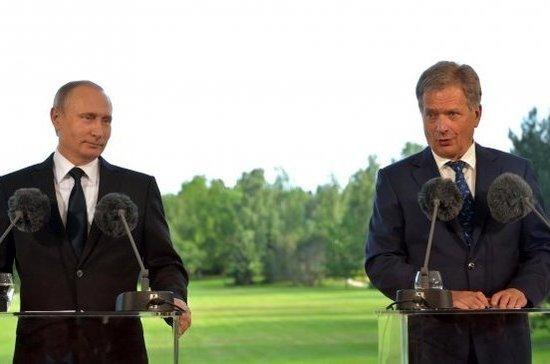 Вотношениях сРФ прослеживается оживление— Президент Финляндии