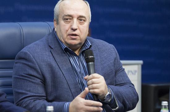 Франц Клинцевич: строительство новых авианосцев начнётся в 2018 году