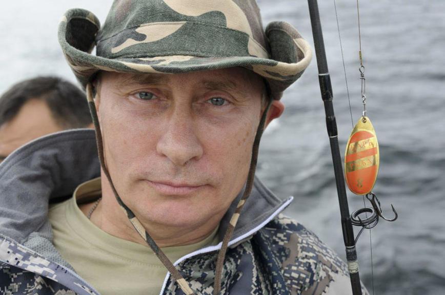 «Интереснее, чем раньше»: как Путин порыбачил в тайге