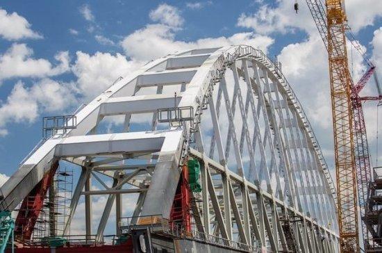 Украина не верит, что Россия сможет построить мост в Крым