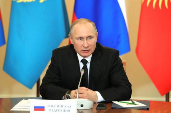 Путин поручил силовым структурам бороться с картелями