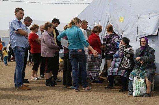 СДонбасса вЕС хотели выехать около 30 тыс. переселенцев