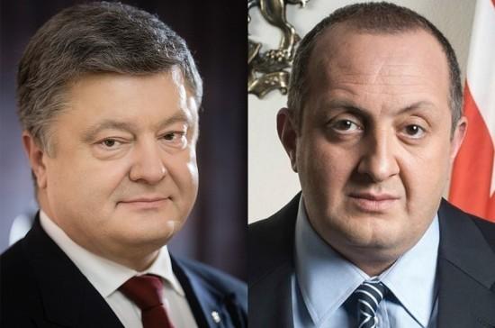 Лидеры Украины и Грузии пожаловались друг другу на визит Путина в Абхазию