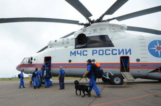 МЧС России готово помочь Китаю в ликвидации последствий землетрясения
