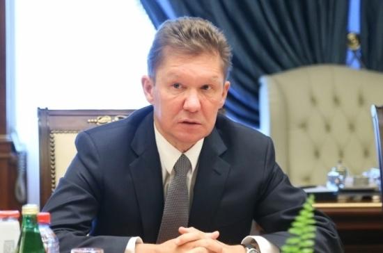 Миллер предупредил о рисках при транзите газа через Украину