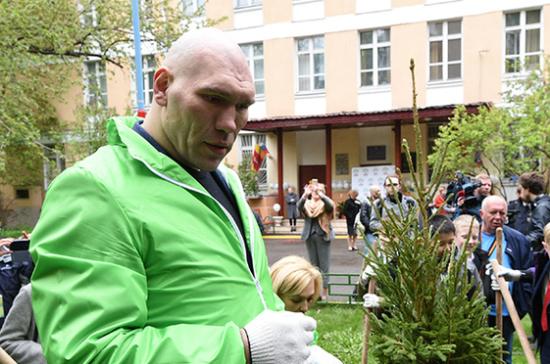 Николай Валуев вступился за экологов