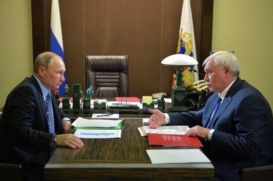 Полтавченко анонсировал рекультивацию одной из свалок в Санкт-Петербурге