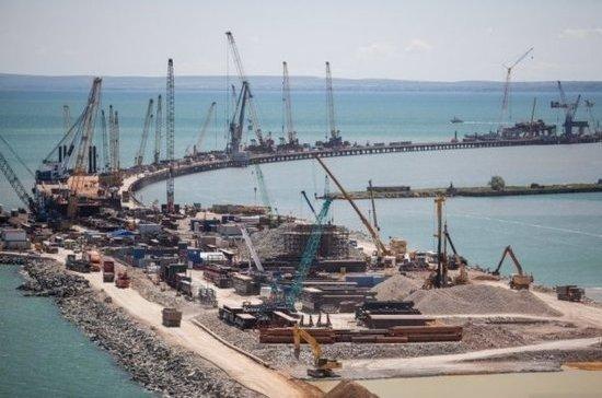 Строители Крымского моста сняли ограничения судоходства