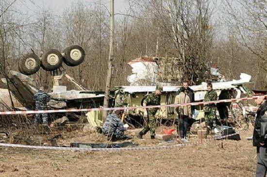 СКопроверг заявления Варшавы овзрыве наборту Ту-154М Качиньского
