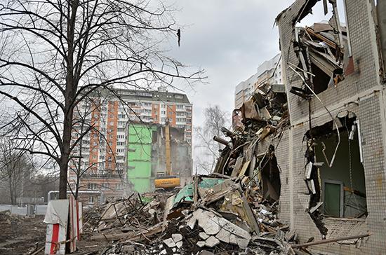 Власти назвали сроки массового переселения москвичей в рамках реновации