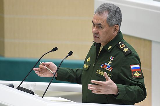 Шойгу призвал оппозицию Сирии сражаться  стеррористами взонах деэскалации