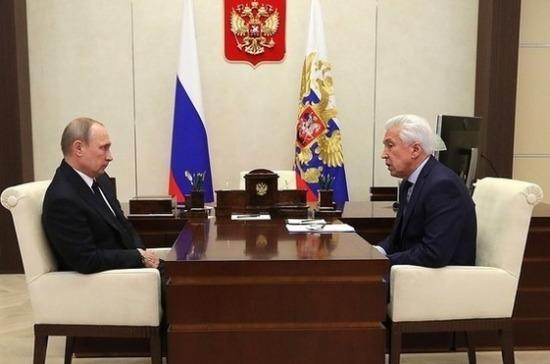 Путин поддержал идею проверки Генпрокуратурой ситуаций дольщиков