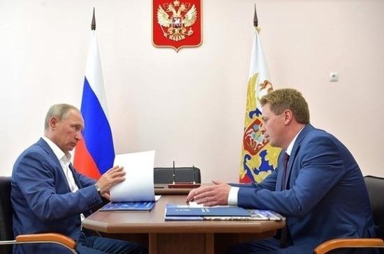 Путин призвал привести Севастополь в«достойный вид»