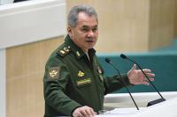 Шойгу заявил о фактическом прекращении гражданской войны в Сирии
