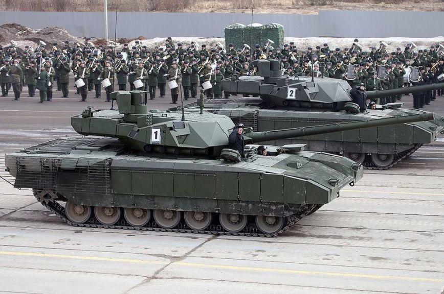В «Ростехе» рассказали, когда начнутся серийные поставки танка «Армата» в войска