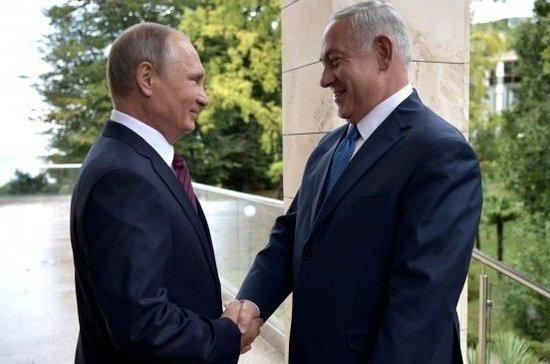 Нетаньяху рассказал о подарке от Путина