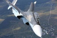Истребитель Су-30СМ уничтожил крылатую ракету над Чёрным морем