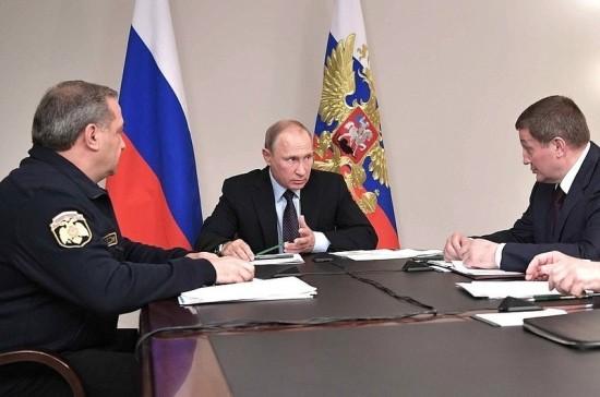 Путин обсудил меры ликвидации последствий пожаров в Ростове-на-Дону и Волгоградской области