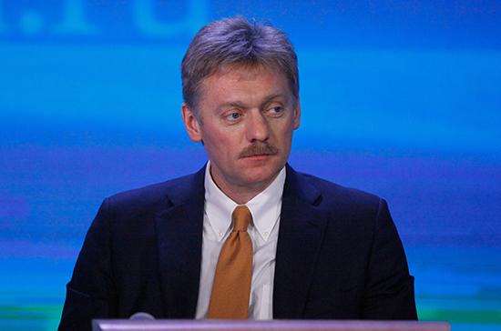 Песков пообещал прояснить ситуацию в связи с похищением журналистки Первого канала в Киеве