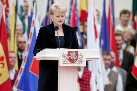 Президент Литвы рассказала, как США помогают Европе отказаться от «Газпрома»