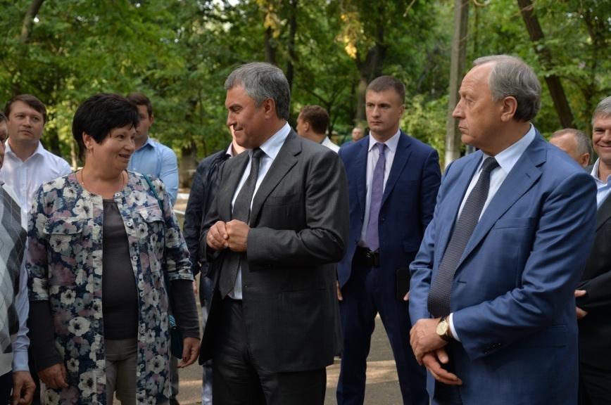 Володин и Радаев пообещали предотвратить подтопление парка в Петровске