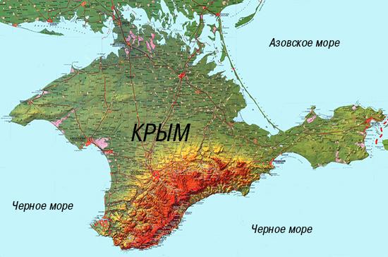 Порошенко предложили отделить Крым от материка каналом