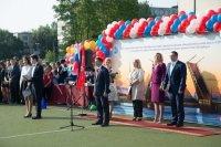 Депутат Романов поздравил первоклассников Фрунзенского района Санкт-Петербурга с Днём знаний