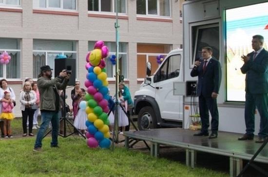 Депутат Романов принял участие в церемонии открытия детского сада в Колпино