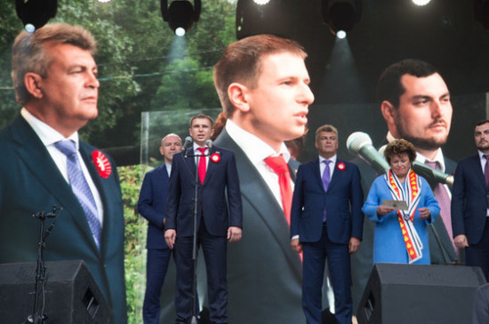 Депутат Романов поучаствовал в праздновании 295-летия города Колпино и Ижорских заводов