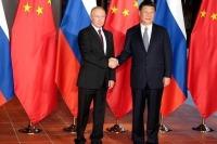 Путин встретился с Си Цзиньпином перед саммитом БРИКС