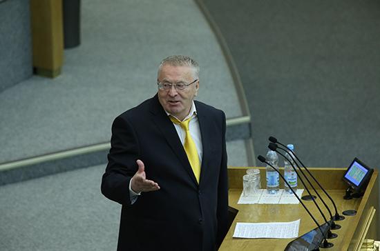 Жириновский: для селфи с политиками россияне выбирают депутатов ЛДПР