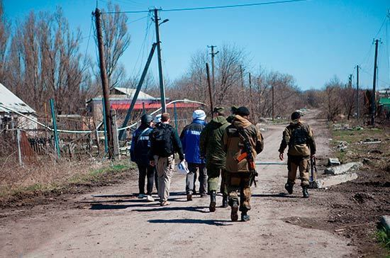 МИД Украины назвал условия для ввода миротворцев ООН в Донбасс