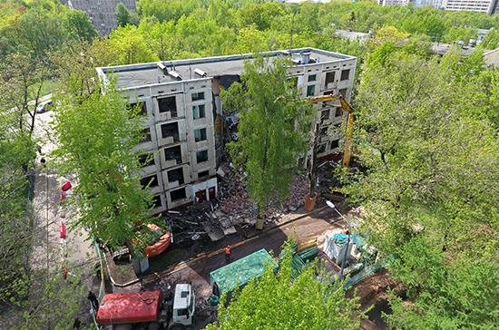 Мэрия Москвы утвердила порядок выхода домов из программы реновации