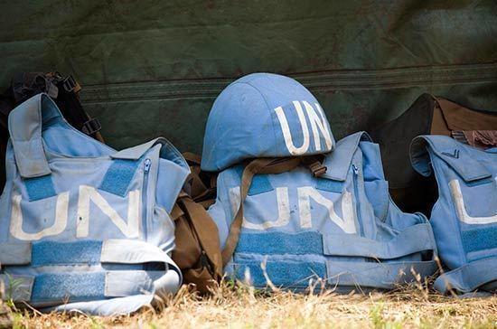 Россия направила в Совбез ООН проект резолюции о миротворцах в Донбассе