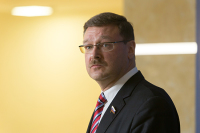 Размещение миротворцев ООН в Донбассе не оставляет лазеек для Киева, считает Косачев