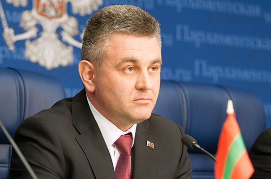 Президент Приднестровья призвал парламент развивать контакты с Госдумой