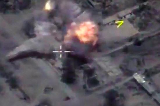 ВКС России уничтожили более тысячи боевиков в районе Акербата