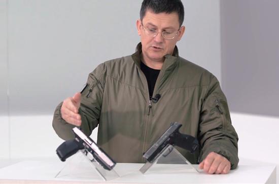 Концерн «Калашников» представил  замену пистолету Макарова