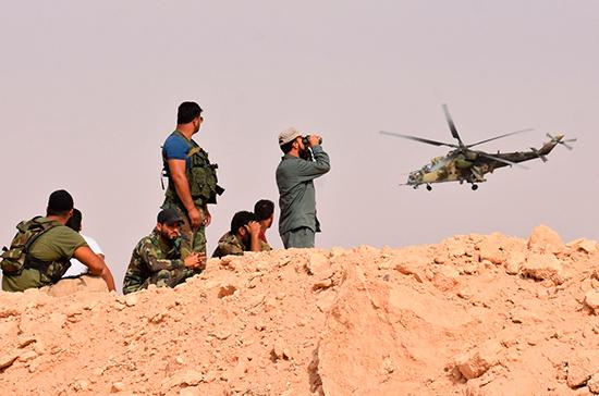 Эксперт рассказал о следующем шаге в антитеррористической операции в Сирии