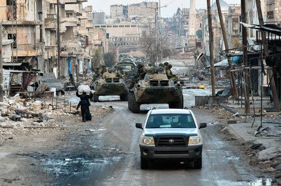 Россия направит гуманитарный конвой в освобождённые районы Дейр-эз-Зора