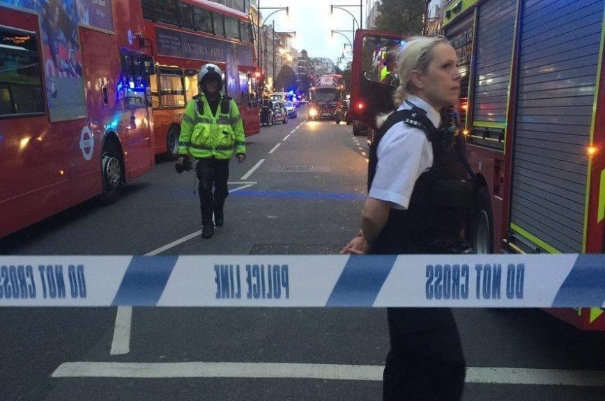В центре Лондона прогремел взрыв