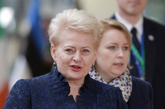 Президент Литвы продемонстрировала публичное неуважение к социал-демократам